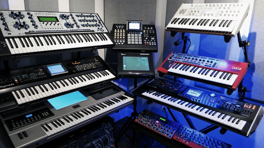 Making A Beat on a keyboard workstation