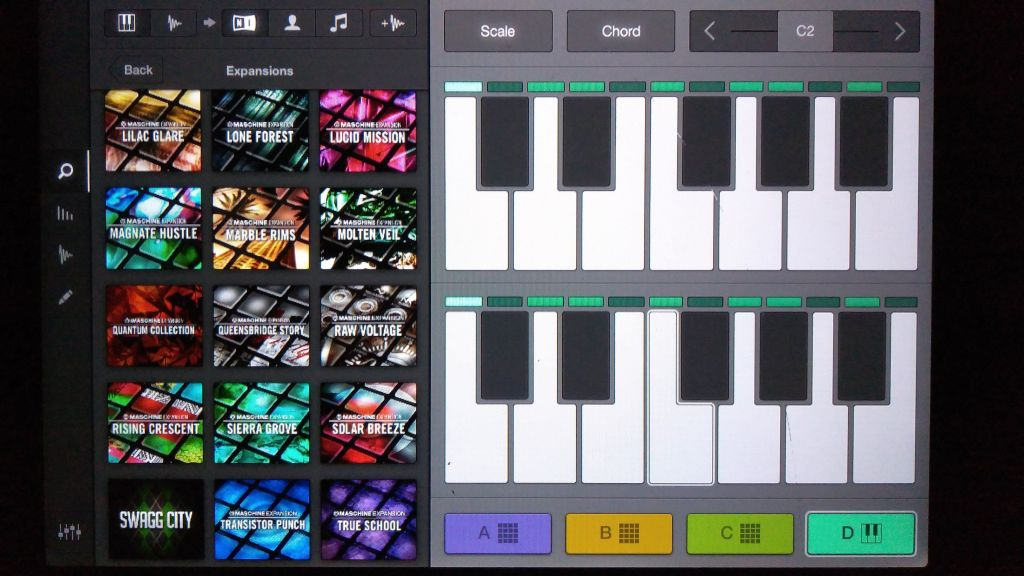 Imaschine app sof making beats