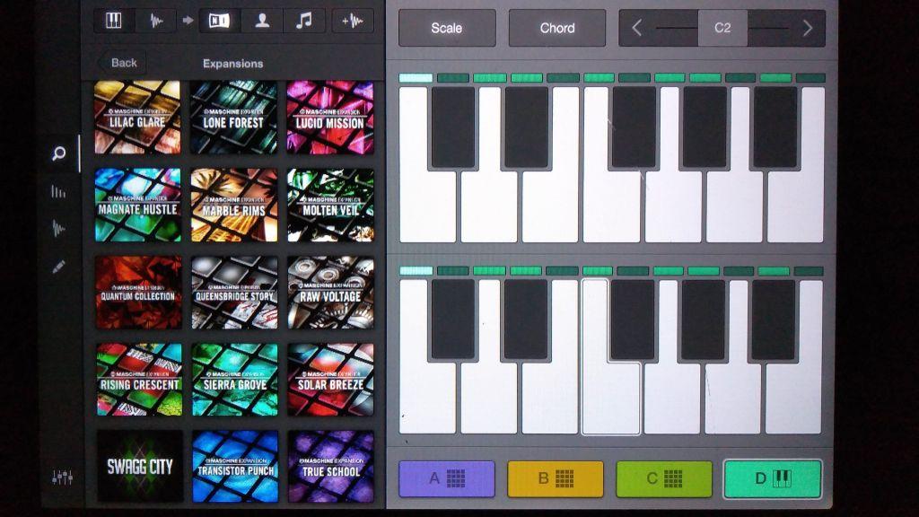 Imaschine app sof making beats