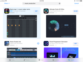 Apps for making beats on iphone and ipad