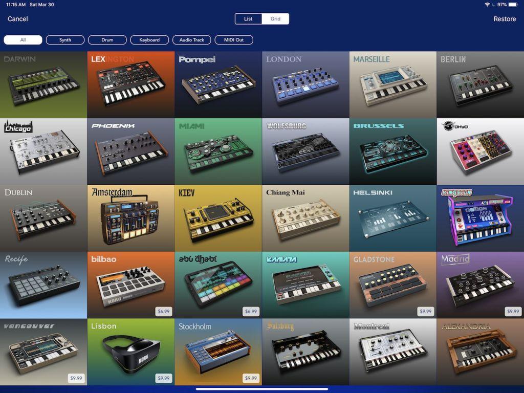 Korg Gadget 2. Fun, Great Sounds, But Still Missing Something
