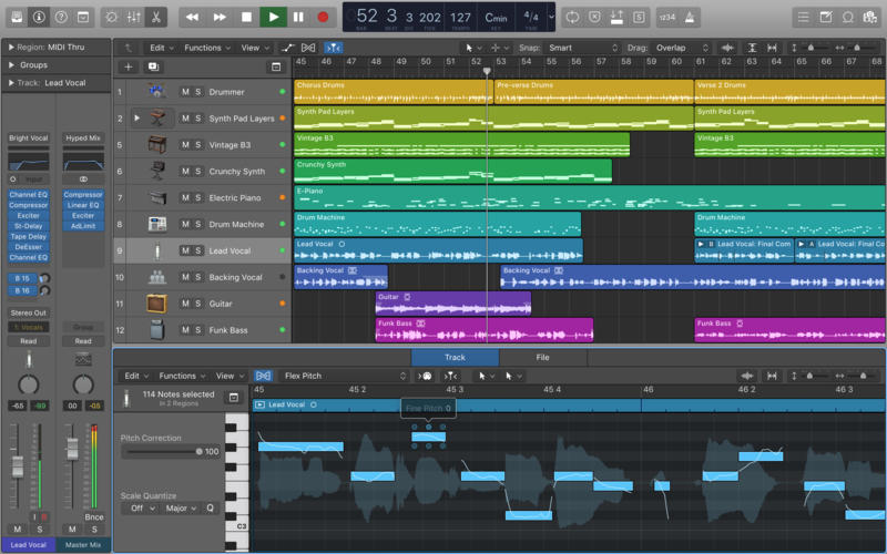 making beats on a mac using logic pro x